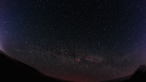 Milky Way from Bowland